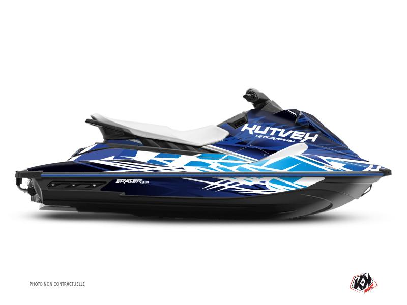 Yamaha EX Jet-Ski Eraser Graphic Kit Blue