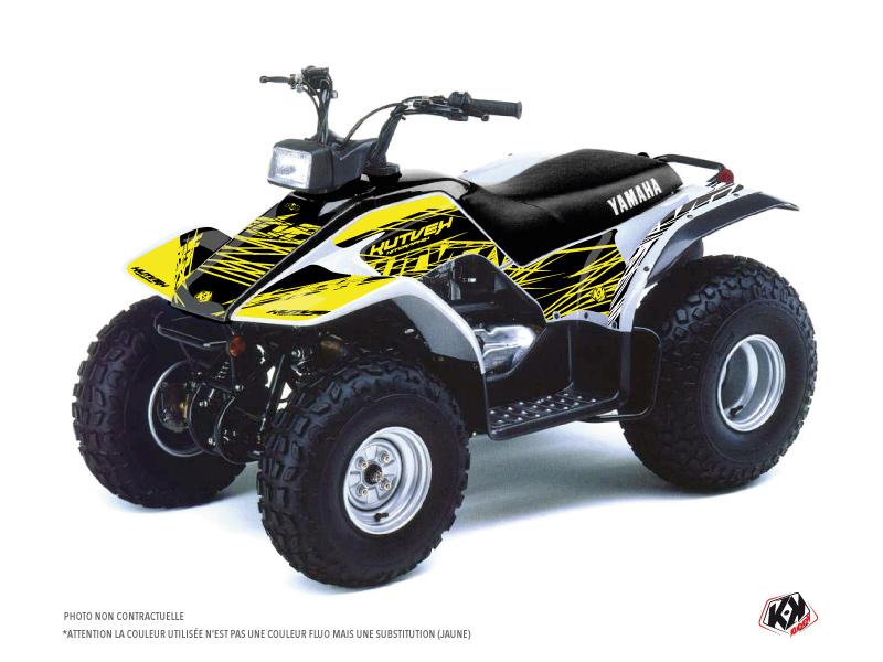 Yamaha Breeze ATV Eraser Fluo Graphic Kit Yellow