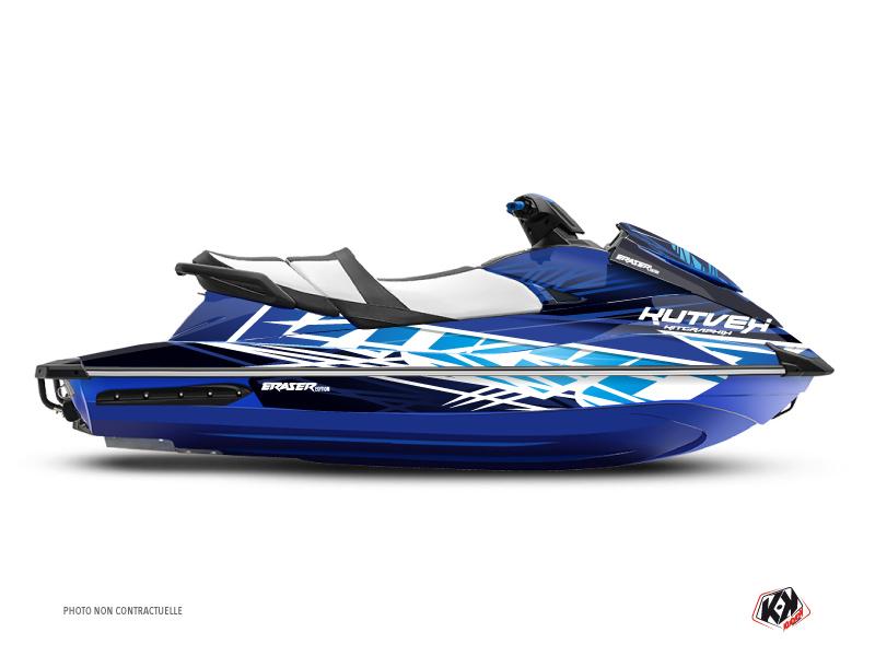 Yamaha GP 1800 Jet-Ski Eraser Graphic Kit Blue