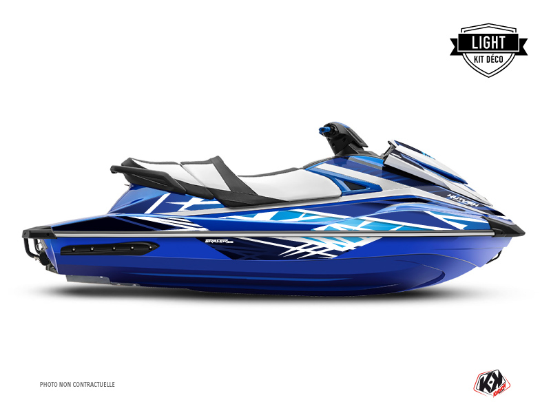 Yamaha GP 1800 Jet-Ski Eraser Graphic Kit Blue LIGHT
