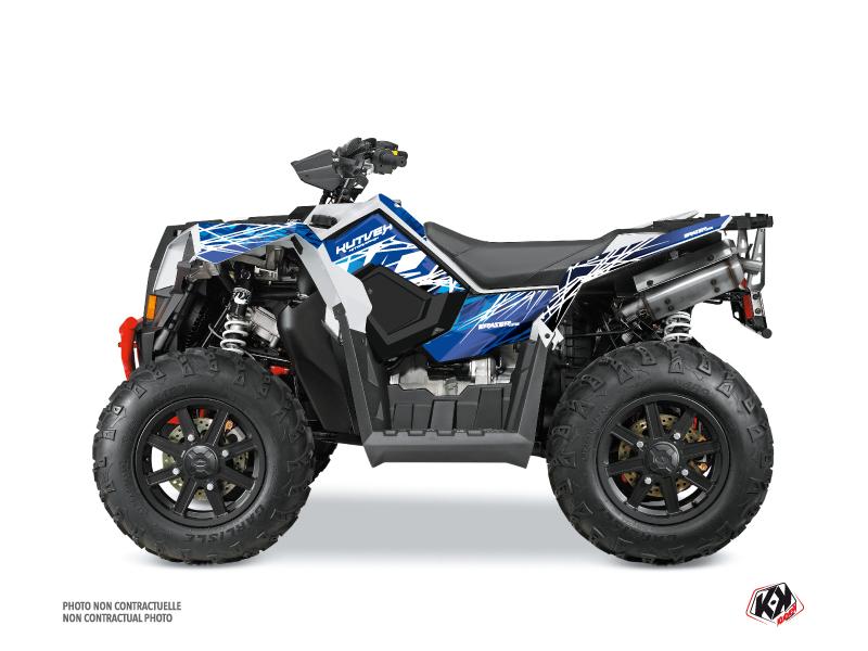 Polaris Scrambler 850-1000 XP ATV Eraser Graphic Kit Blue