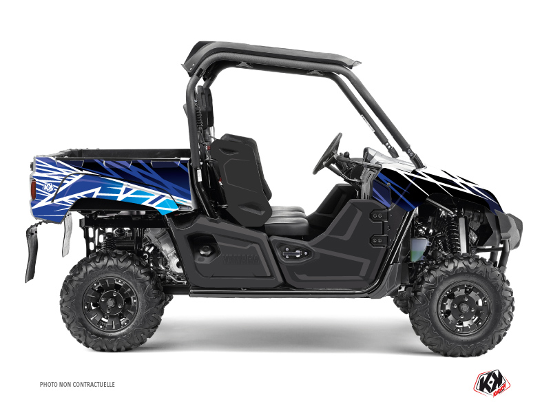 Yamaha Viking UTV Eraser Graphic Kit Blue