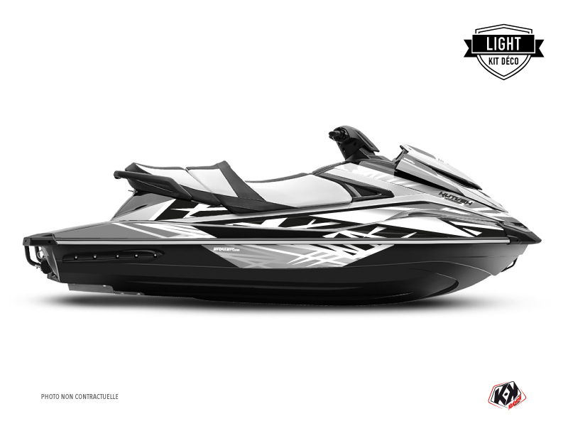 Kit Déco Jet-Ski Eraser Yamaha VX Blanc LIGHT