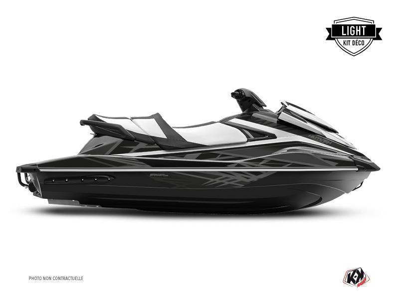 Kit Déco Jet-Ski Eraser Yamaha VX Noir Gris LIGHT