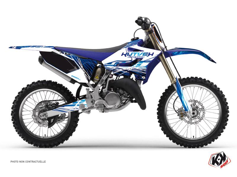 Yamaha 125 YZ Dirt Bike Eraser Graphic Kit Blue