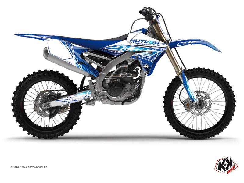 Kit Déco Moto Cross Eraser Yamaha 450 YZF Bleu