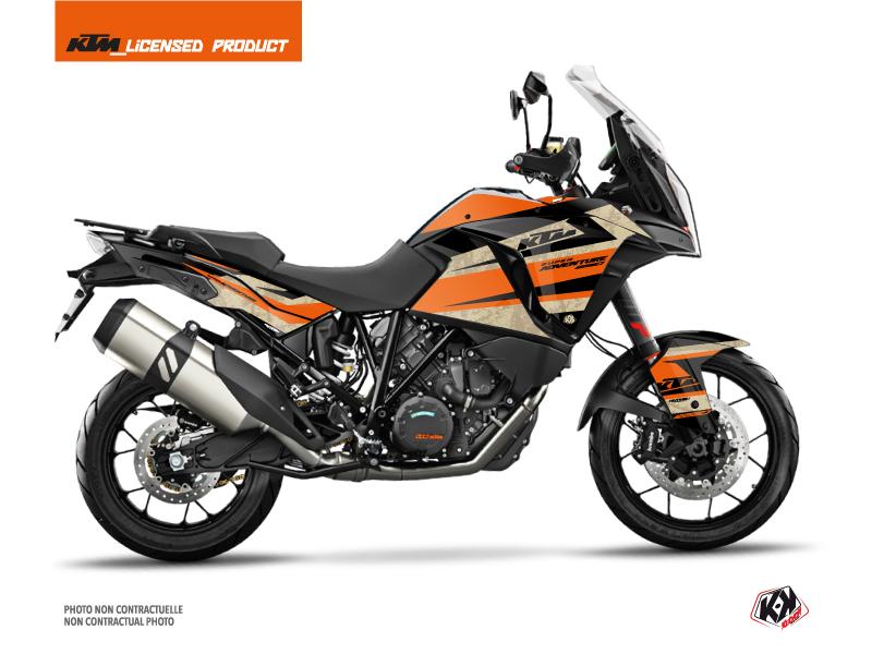 Kit Déco Moto Eskap KTM 1290 Super Adventure S Orange Sable