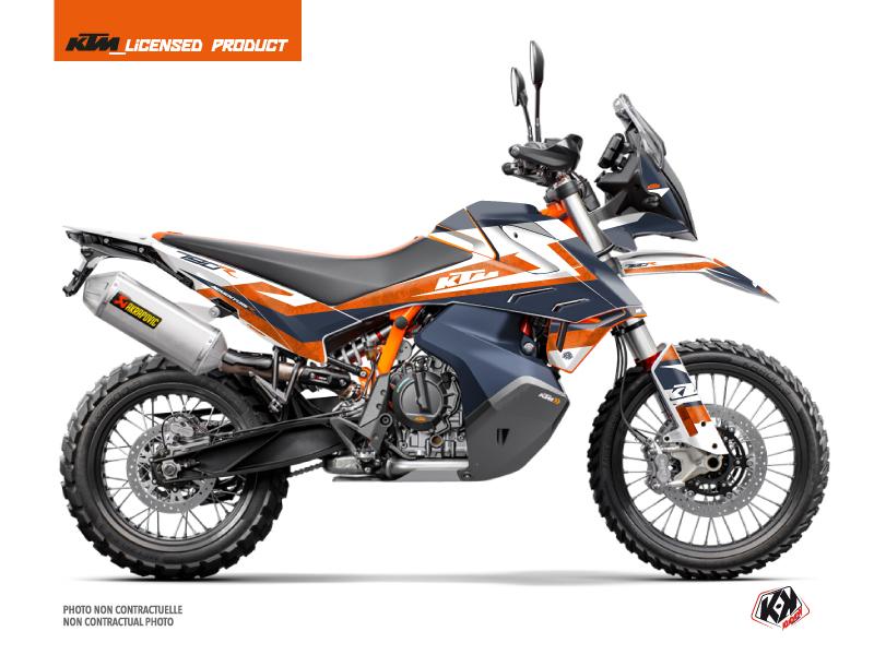 KTM 790 Adventure R Street Bike Eskap Graphic Kit Blue Orange
