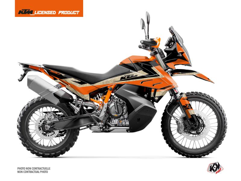 KTM 790 Adventure R Street Bike Eskap Graphic Kit Orange Sand