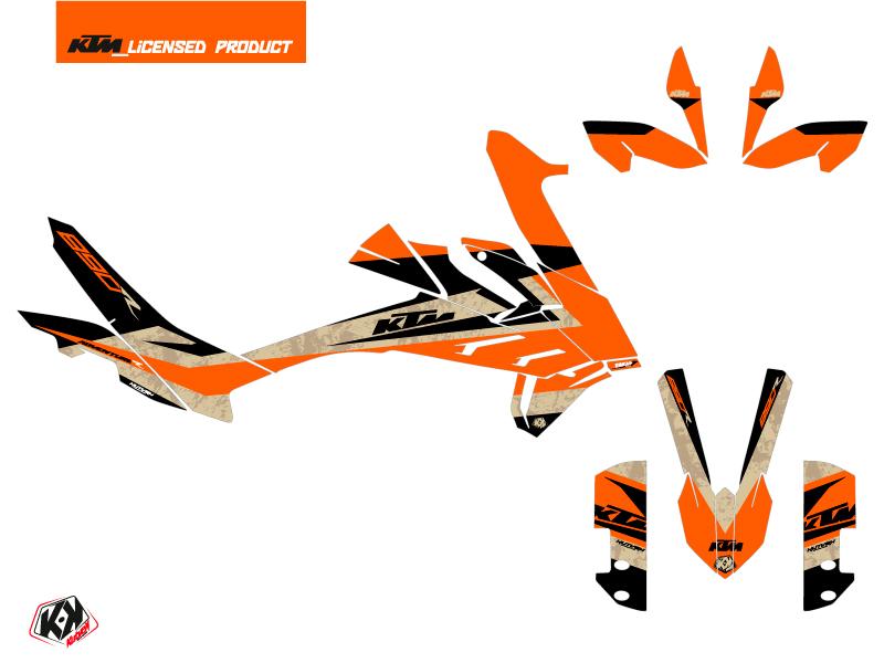 KTM 890 Adventure R Street Bike Eskap Graphic Kit Orange Sand