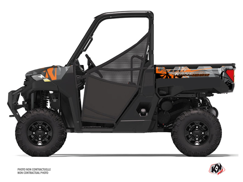 Kit Déco SSV Evil Polaris Ranger 1000 Gris Orange