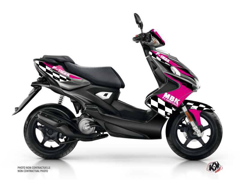 MBK Nitro Scooter F1 Assistance Graphic Kit Pink