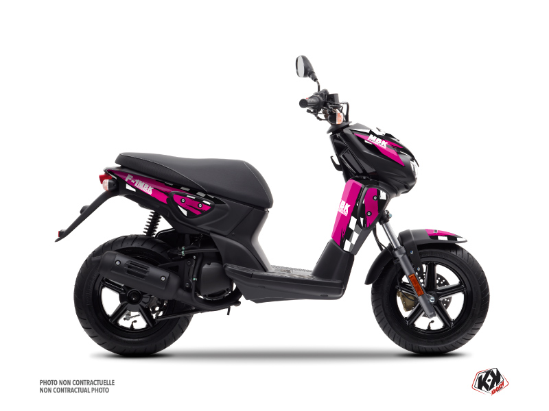 MBK Stunt Scooter F1 Assistance Graphic Kit Pink