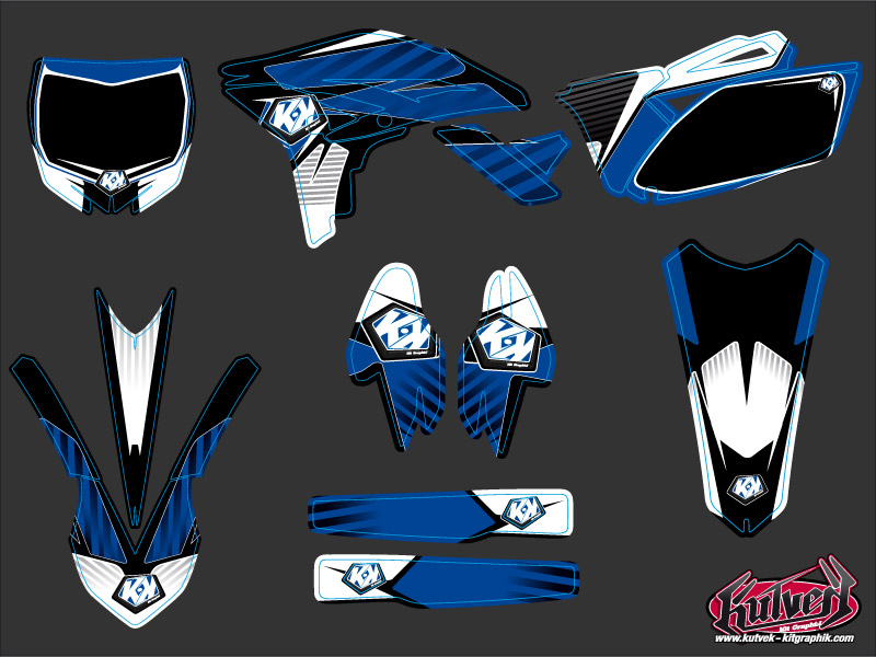 Yamaha 250 YZF Dirt Bike Factory Graphic Kit