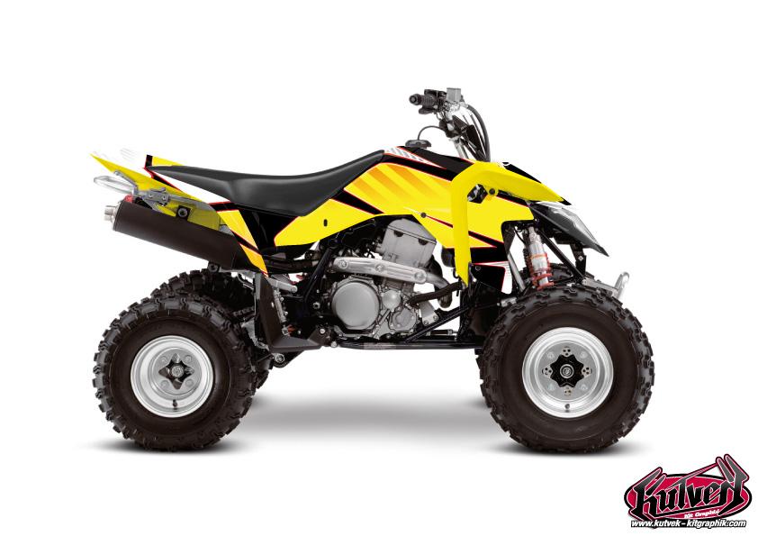 Suzuki 400 LTZ IE ATV Factory Graphic Kit