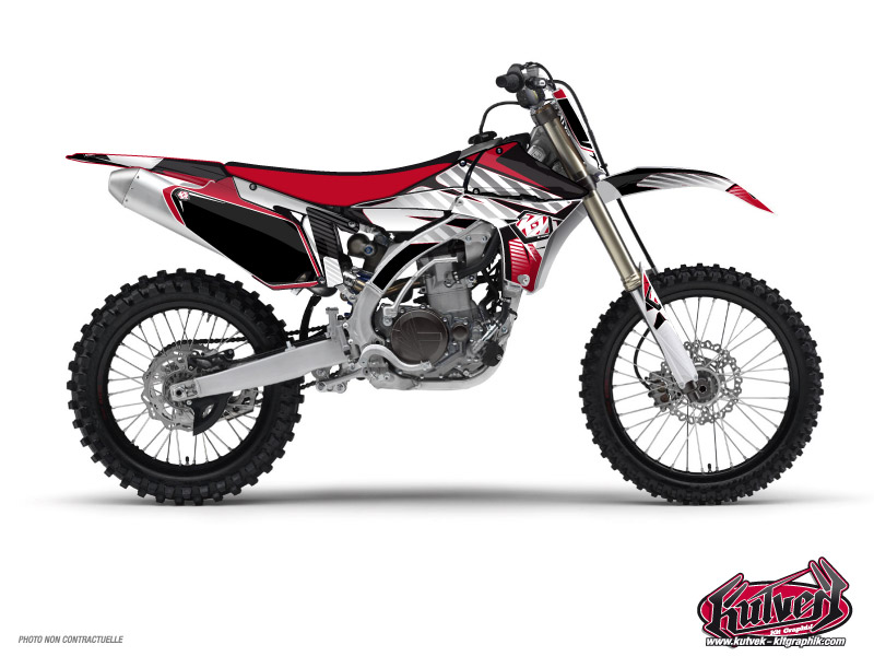 Kit Déco Moto Cross Factory Yamaha 450 YZF Rouge