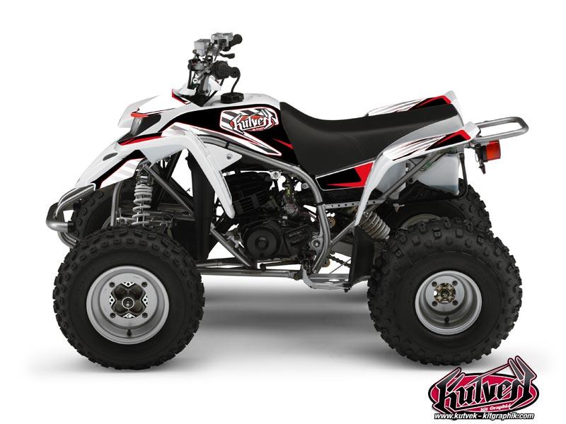 Yamaha Blaster ATV Factory Graphic Kit Red