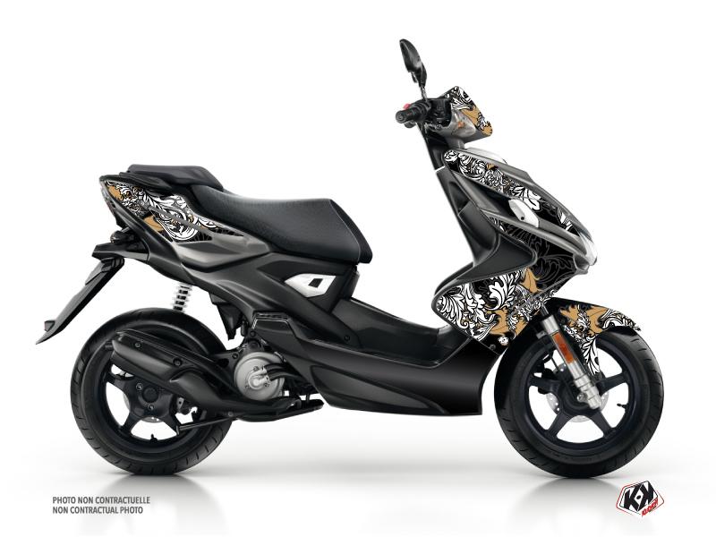 Kit Déco Scooter Fashion Yamaha Aerox Gold