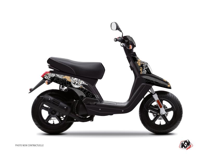 Yamaha BWS Scooter Fashion Graphic Kit Gold