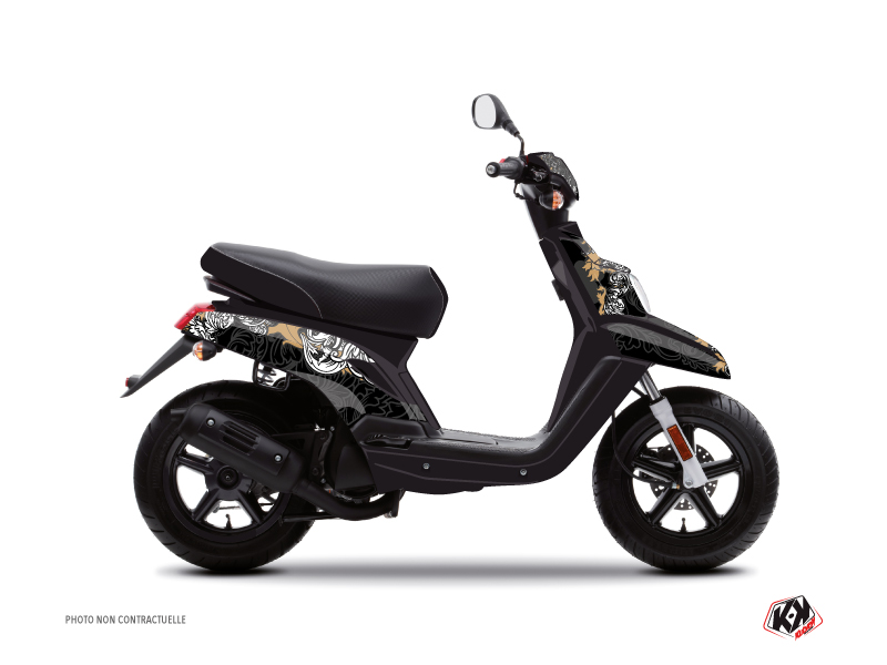 MBK Booster Scooter Fashion Graphic Kit Gold