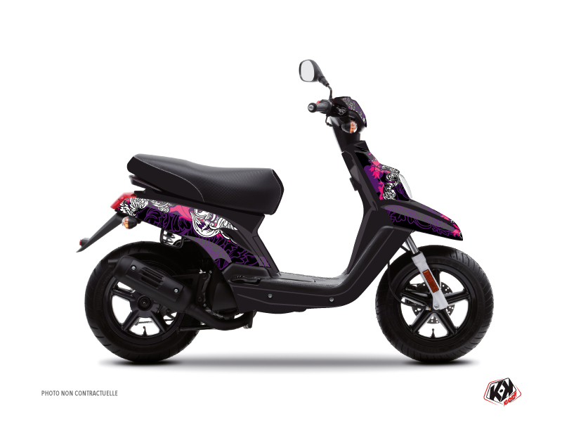 MBK Booster Scooter Fashion Graphic Kit Pink