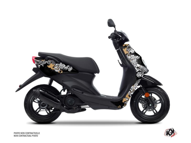 Yamaha NEOS Scooter Fashion Graphic Kit Gold