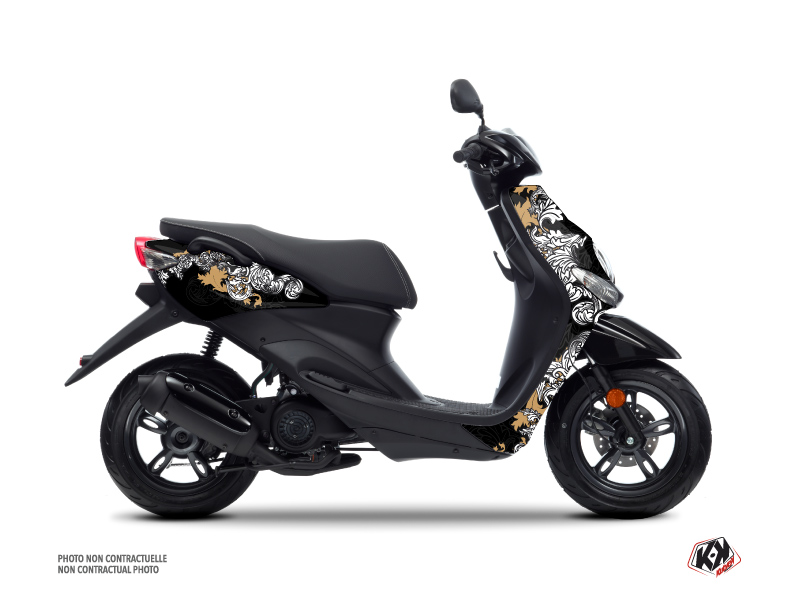 MBK Ovetto Scooter Fashion Graphic Kit Gold