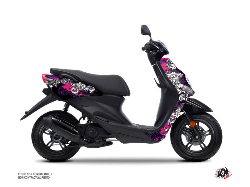Yamaha NEOS Scooter Fashion Graphic Kit Pink