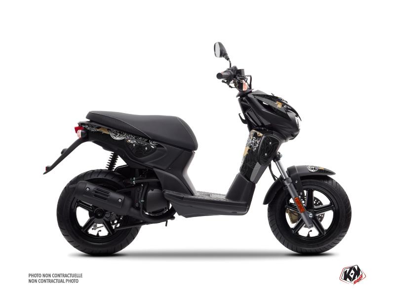 Yamaha Slider Scooter Fashion Graphic Kit Gold