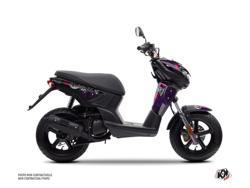 Yamaha Slider Scooter Fashion Graphic Kit Pink