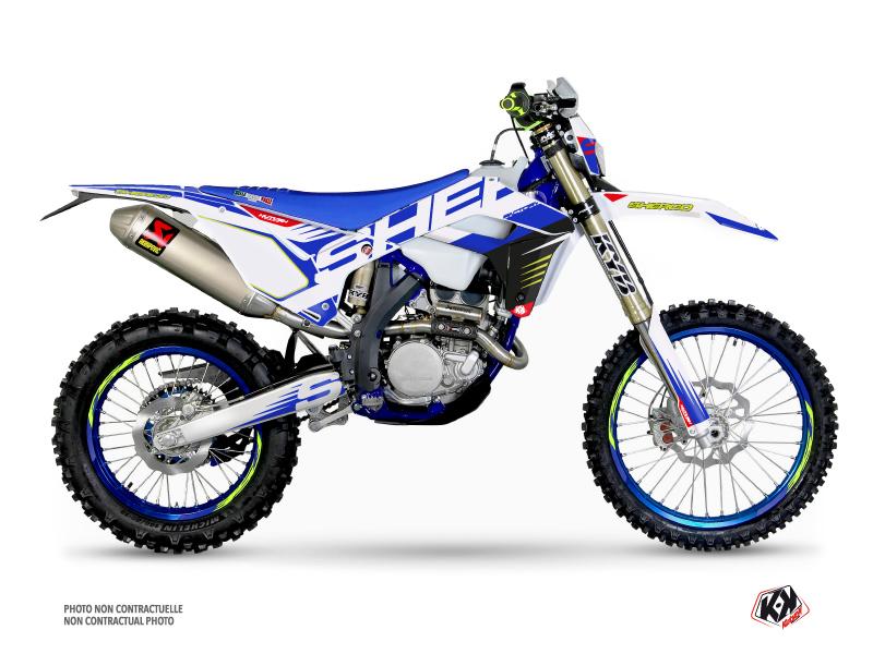 Sherco SE / SEF Dirt Bike Fast Graphic Kit White