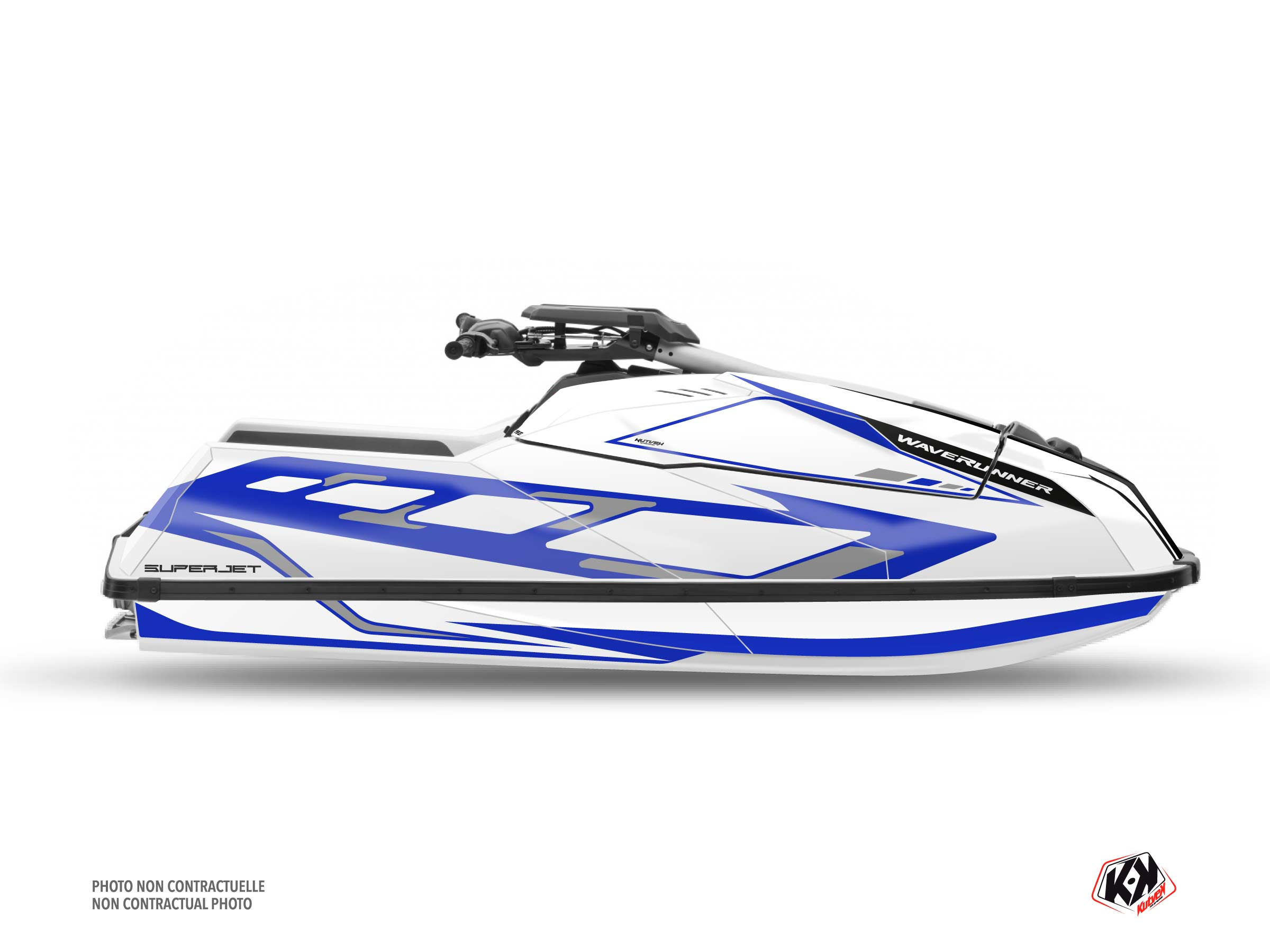 Kit Déco Jet-Ski FLAGSHIP Yamaha Superjet 2021 Blanc