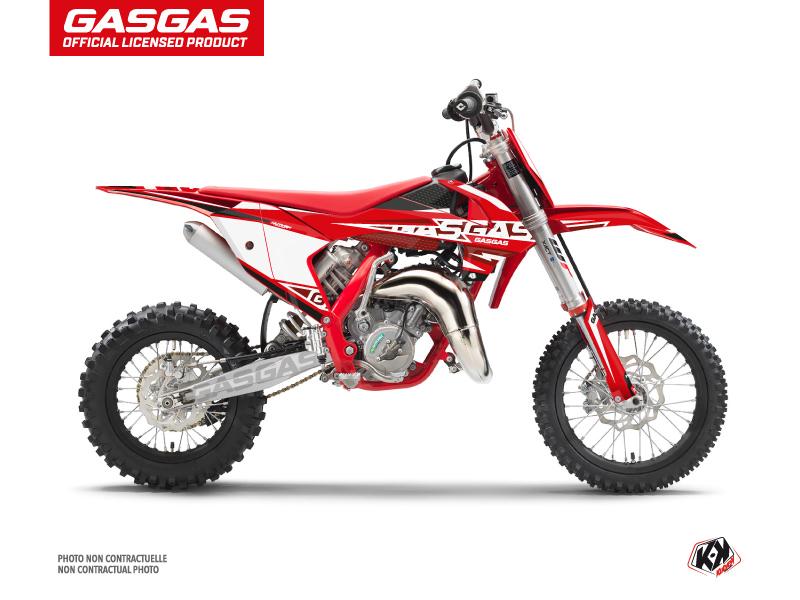 GASGAS MC 65 Dirt Bike Flash Graphic Kit Black