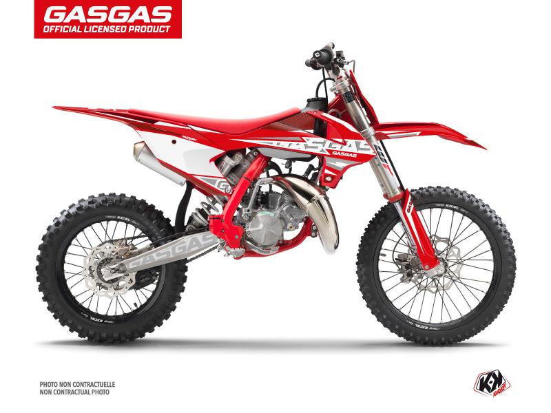 GASGAS MC 85 Dirt Bike Flash Graphic Kit Red