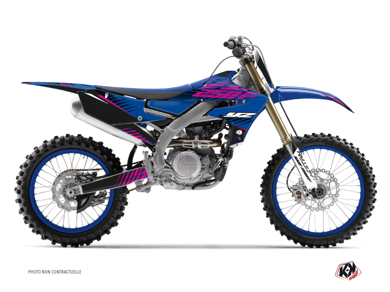 Yamaha 250 YZF Dirt Bike Flow Graphic Kit Pink