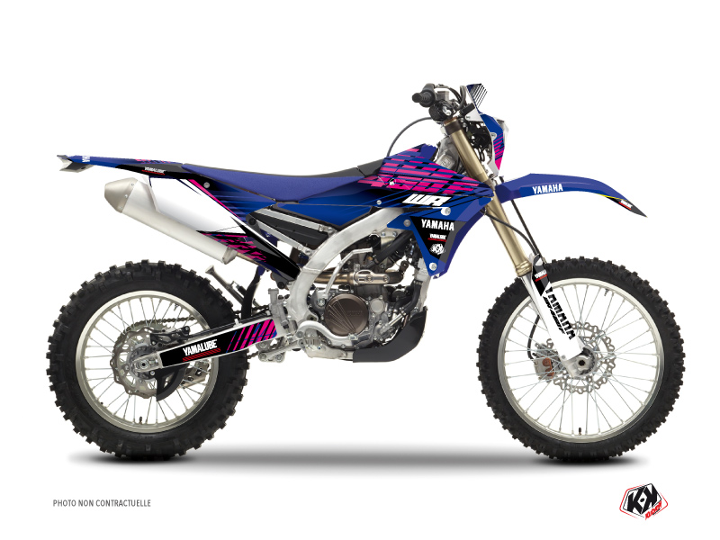 Kit Déco Moto Cross Flow Yamaha 450 WRF Rose