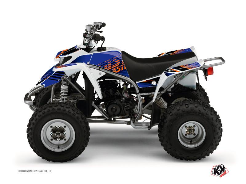 Yamaha Blaster ATV Flow Graphic Kit Orange