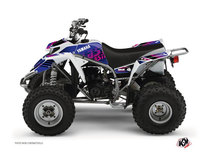 Yamaha Blaster ATV Flow Graphic Kit Pink