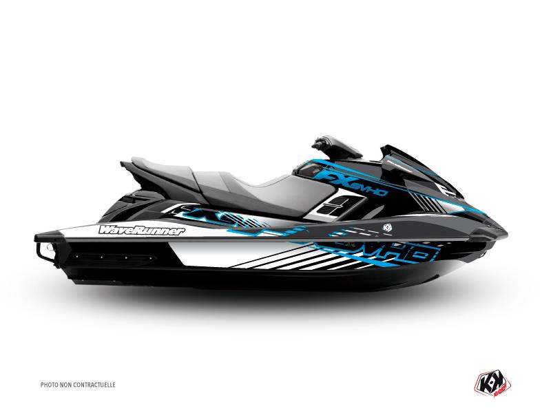 Kit Déco Jet-Ski Flow Yamaha FX Bleu