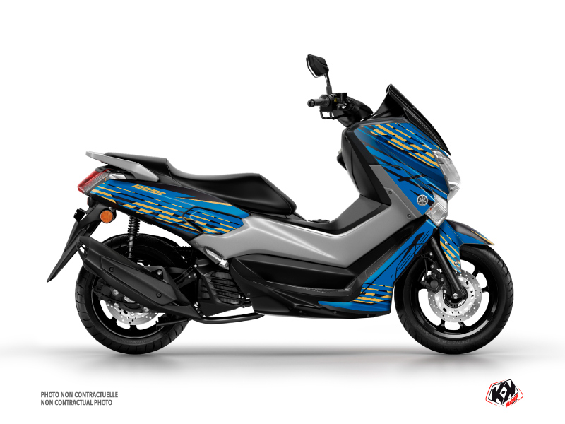 Yamaha NMAX 125 Maxiscooter Flow Graphic Blue