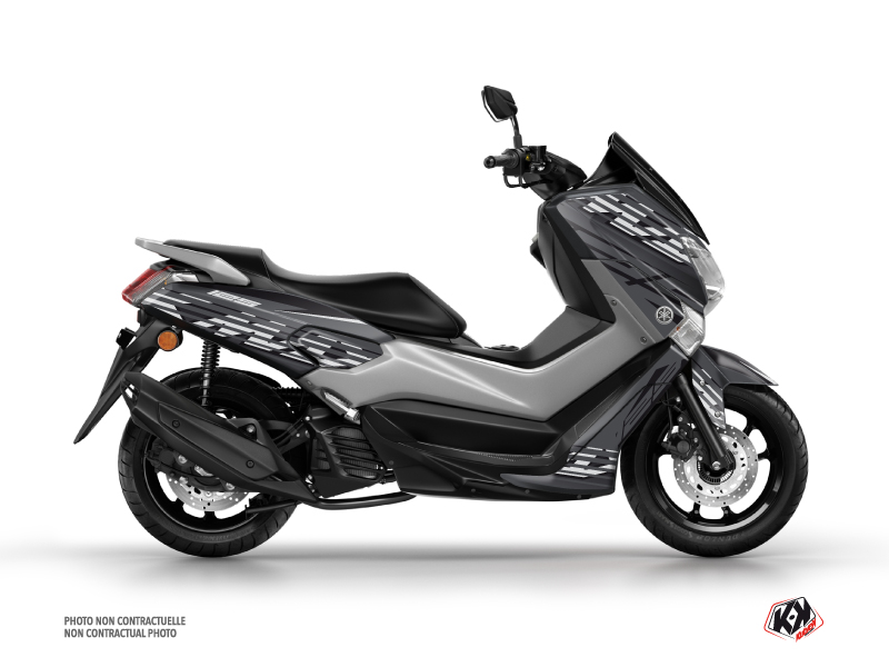 Yamaha NMAX 125 Maxiscooter Flow Graphic Grey