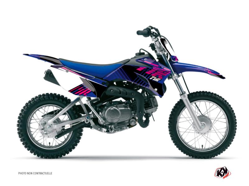 Kit Déco Moto Cross Flow Yamaha TTR 90 Rose