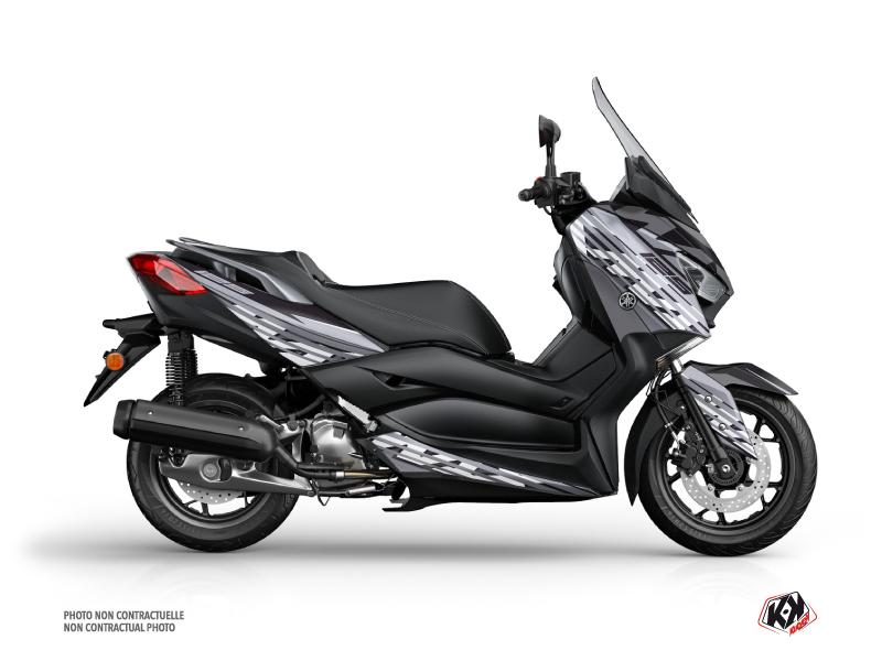 Yamaha XMAX 125 Maxiscooter Flow Graphic Kit Grey