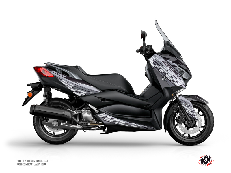 Yamaha XMAX 300 Maxiscooter Flow Graphic Grey