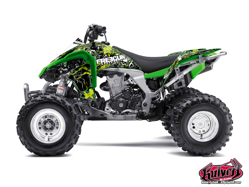 Kawasaki 450 KFX ATV Freegun Graphic Kit