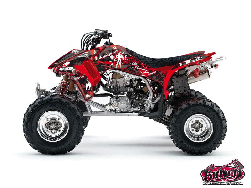Honda 450 TRX ATV Freegun Graphic Kit