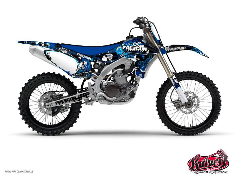 Yamaha 85 YZ Dirt Bike Freegun Graphic Kit