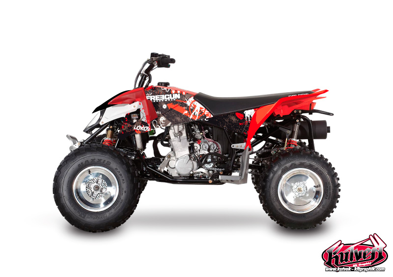 Polaris Outlaw 450 ATV Freegun Graphic Kit