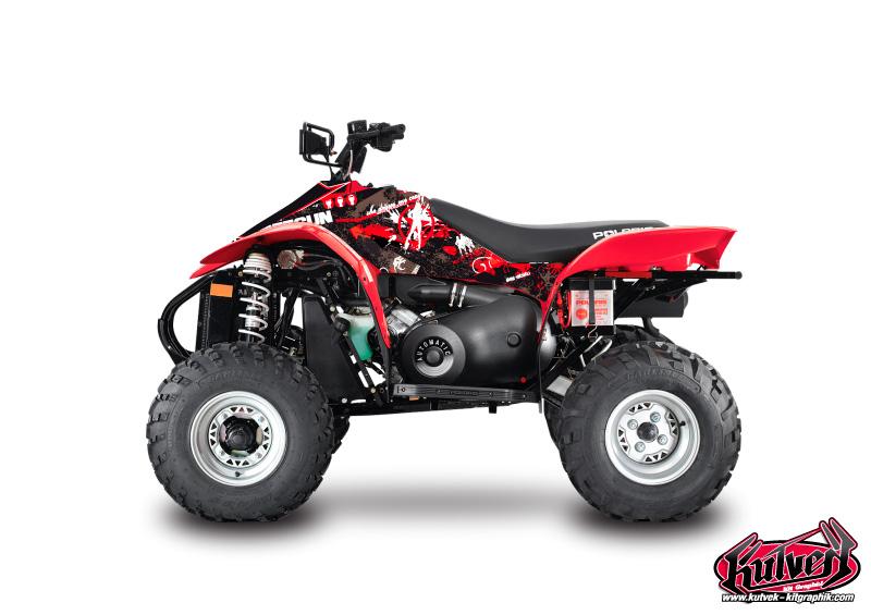 Polaris Scrambler 500 ATV Freegun Graphic Kit