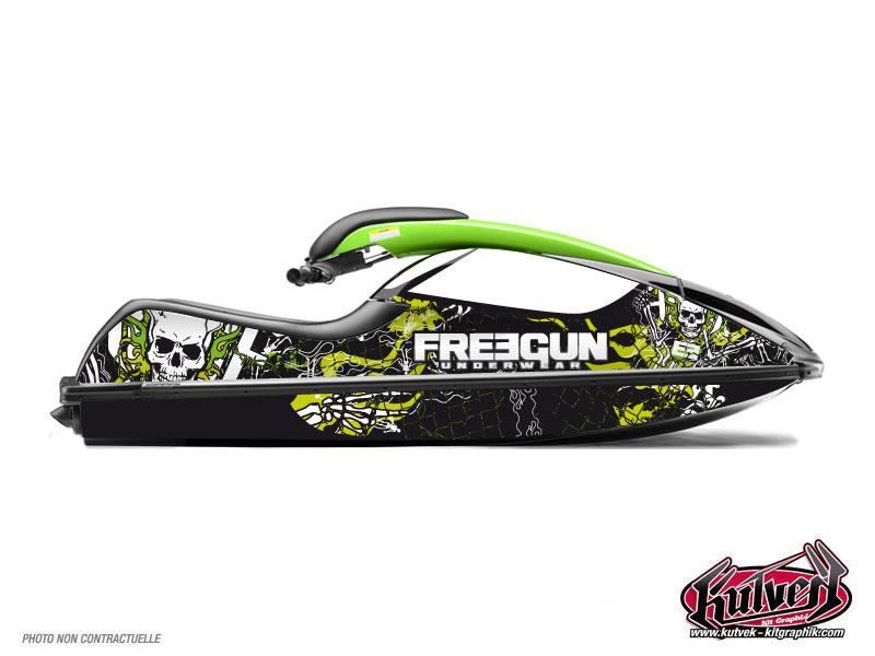 Kit Déco Jet-Ski Freegun Kawasaki SXR 800